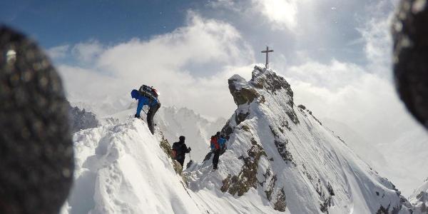 Gipfelgrat Dreiländerspitze