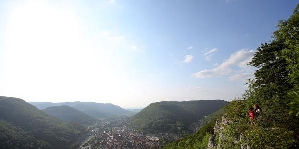 Blick vom Kunstmühlefels