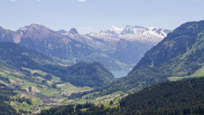 Wägitalersee from Pfifegg