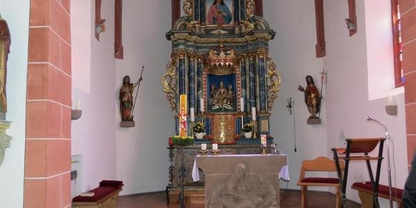 Pfarrkirche St. Wendelinus Kirmutscheid