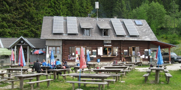 Start von der Eisenkappler Hütte