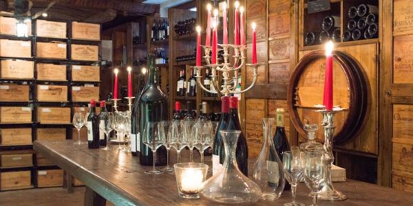 Der Weinkeller des Naturpark-Wirts Lamm in Rotensol