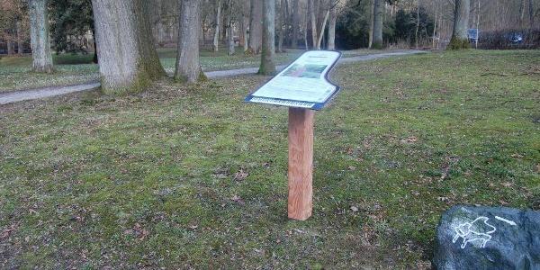 Steinway Trail - Infotafel