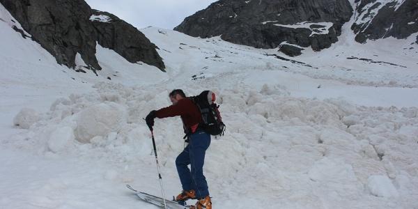 Erste große Steilstufe