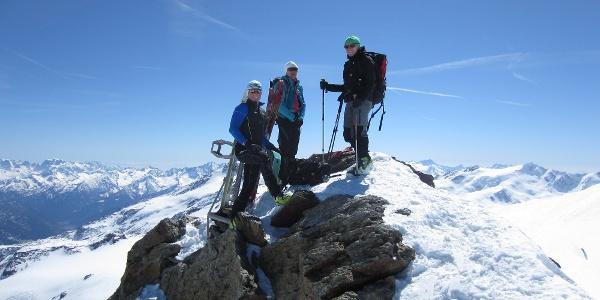 Gipfelkreuz Zufallspitze