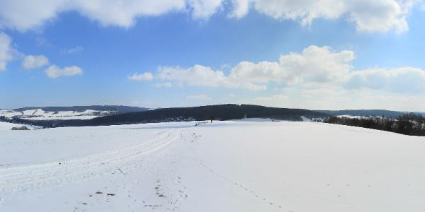 Panorama Eisenweg bei Thalheim