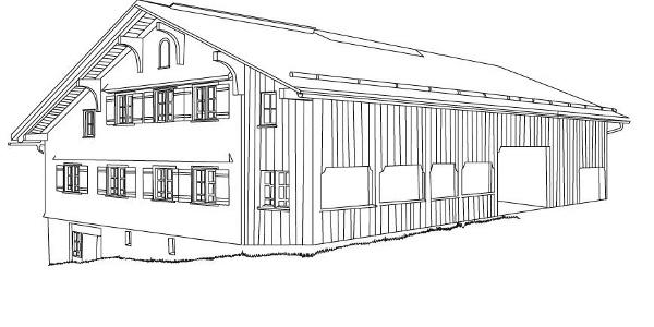 Haus E. in Au