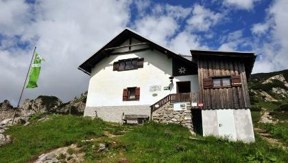 Das Admonter Haus ist die höchstgelegene Schutzhütte der Gesäuseregion