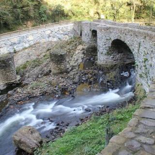 Blick auf den Leitzaran Fluss