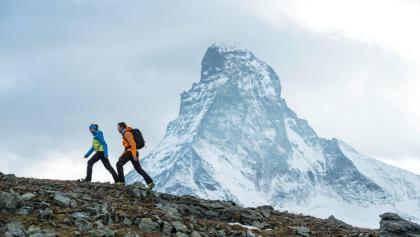 Trekking des cabanes dans les montagnes de Zermatt