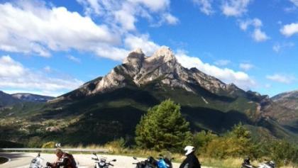 Motorradtour in den Pyrenäen