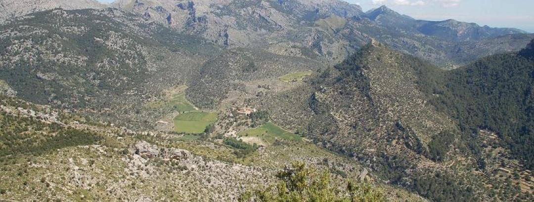 Aussicht vom Puig d'alaro