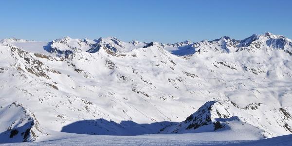 Similaun: Aufstieg über den Niederjochferner