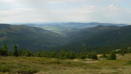 Blick vom Schneeberg