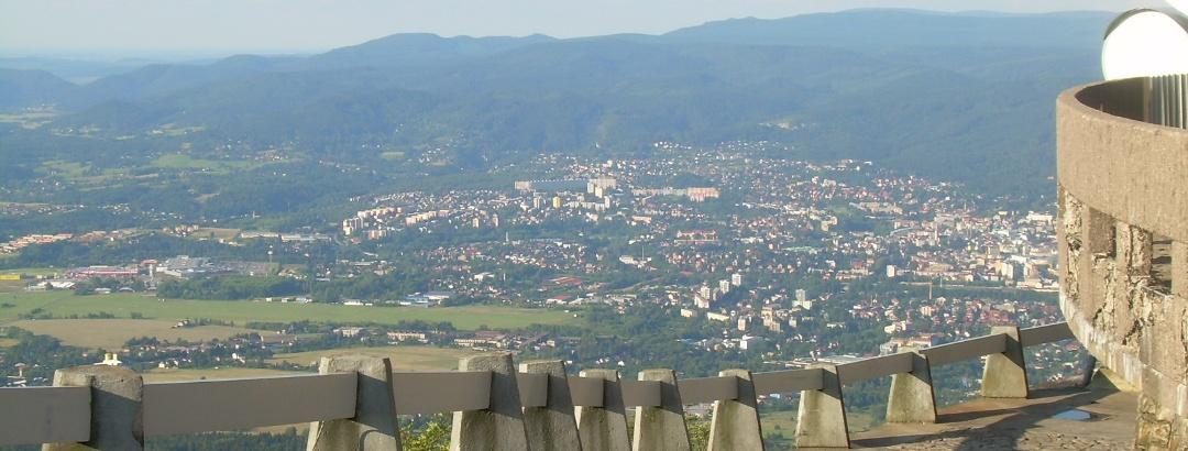 Blick auf Liberec