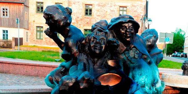 Schildau Schildbürgerbrunnen
