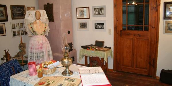 Das Heimatmuseum in Tauer.