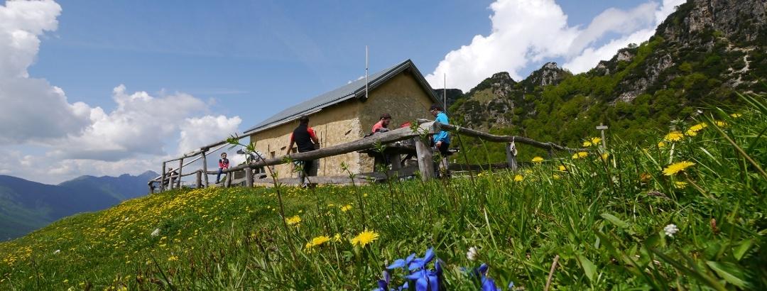Die Hütte Malga Boffetal