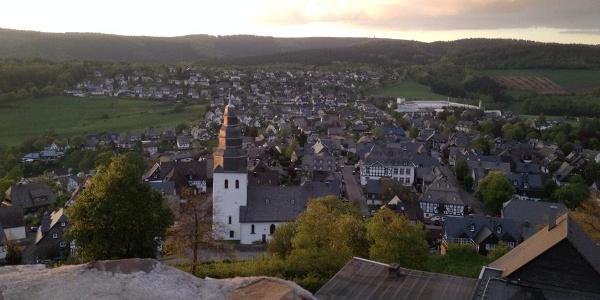 Blick über Eversberg
