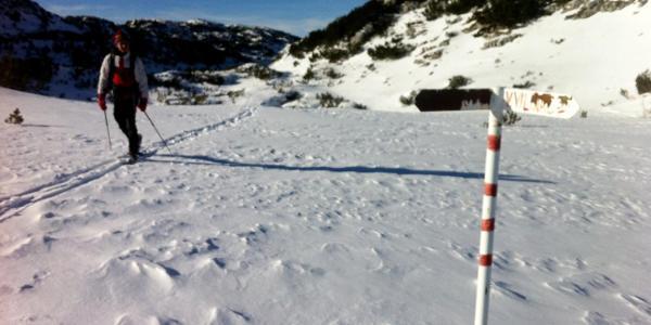 Trail crossing Masna luka-Plocno-Vilinac