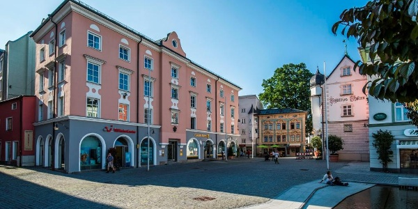 Die Innenstadt von Rosenheim
