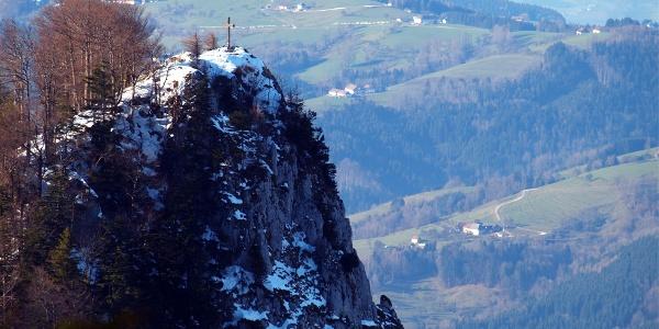 Dürres Eck 1222m vom Gaisbegkreuz