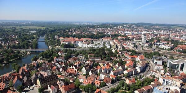 Blick über Ulm