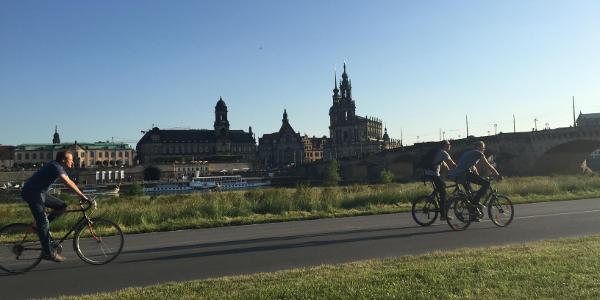 Blick aud Dresden