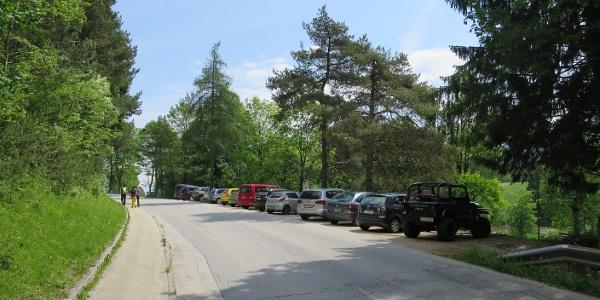 Parkplatz Reintalersee Mitte (gebührenpflichtig)