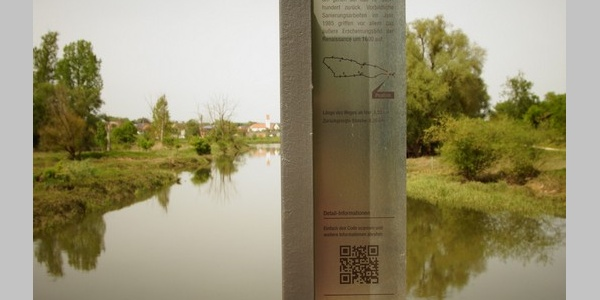 Mündung der Abens in die Donau