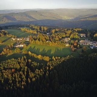 Blick über Jagdhaus