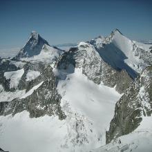 Matterhorn, Wellenkuppe und Obergabelhorn