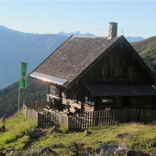 Anton-Renk-Hütte - mit Weitblick