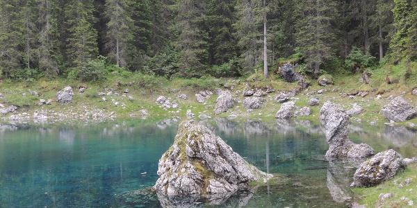 View over the Lake Karer