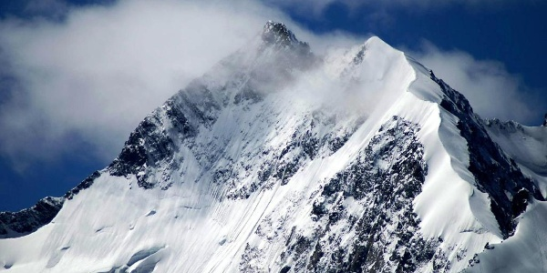 Biancograt am Piz Bernina