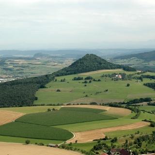 Blick in die Hegaulandschaft Richtung Süden