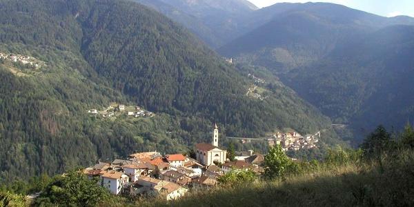 Capriana - Dorf