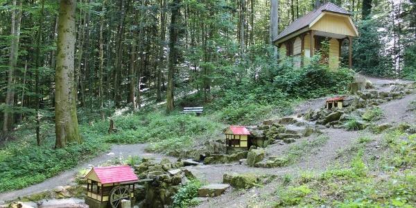 Heiliger Brunnen mit Rudolfuskapelle und Wasseranlage