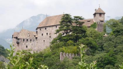 Rückblick auf Schloss Runkelstein