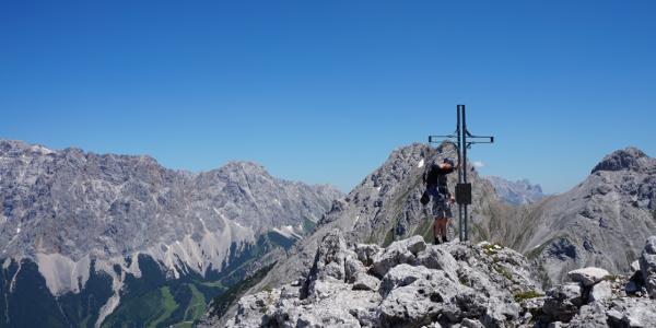 Der Gipfel des Drachenkopfs