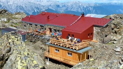 Glungezerhütte auf 2610m