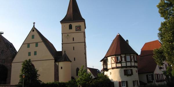 Kirchenburg in Merklingen