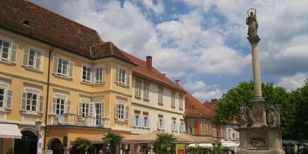 der Hauptplatz in Bad Radkersburg