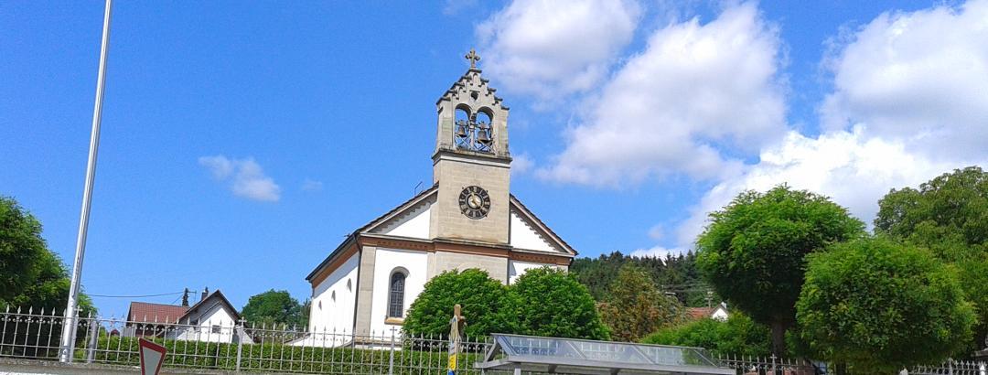 Kirche in Lellwangen
