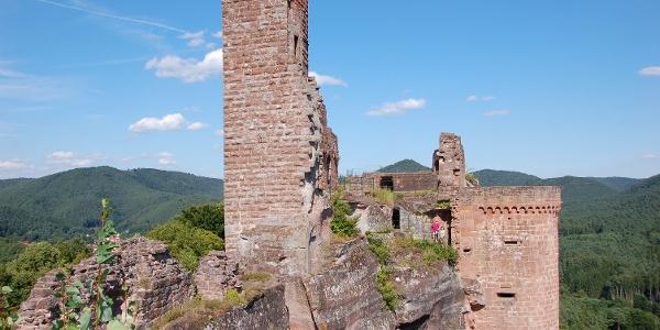 Burgengruppe Alt-Dahn, Grafendahn Tannstein