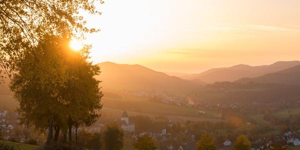 Blick über Grafschaft
