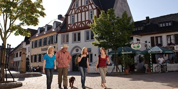 Obermoschel Marktplatz