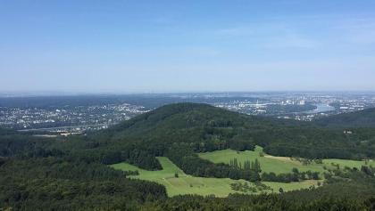Blick vom Grosser Ölberg nach Bonn