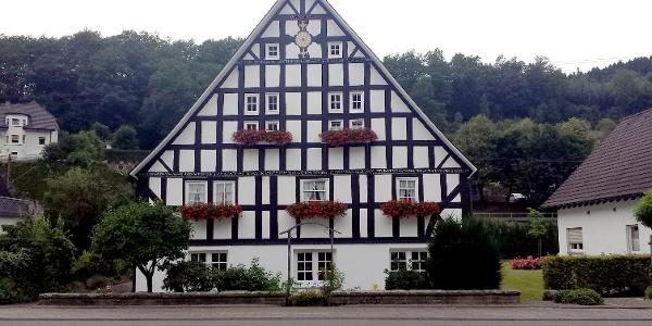 Sauerländisches Fachwerkhaus in Hofolpe