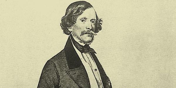 Carl Ritter von Ghega Portrait
